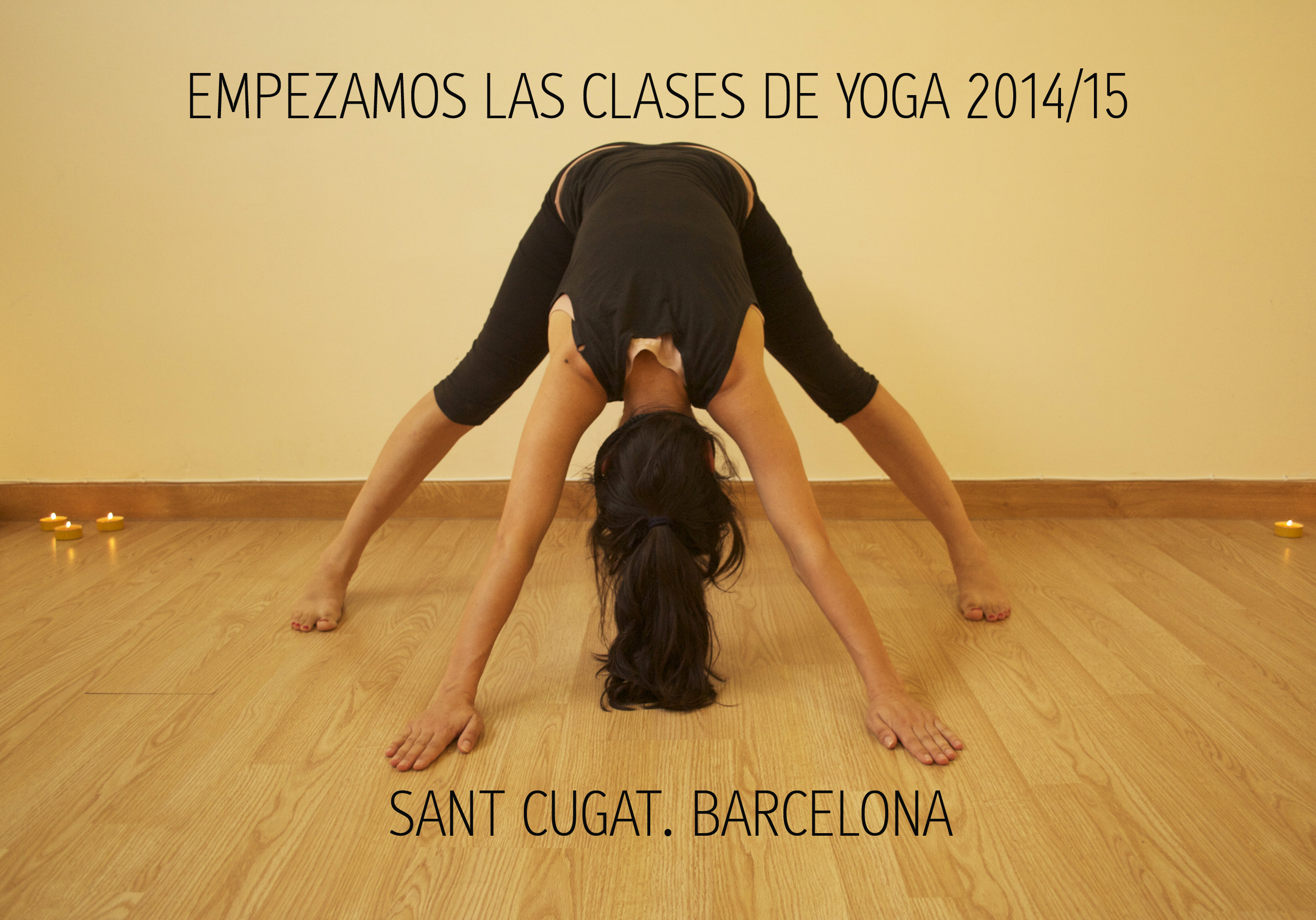 Yoga embarazo Sant Cugat. Anna Santos