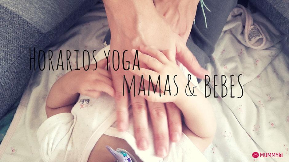 horarios yoga mamás y bebés